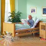 BURMEIER Медицинская кровать Arminia функциональная 4-х секционная в комплекте с матрасом